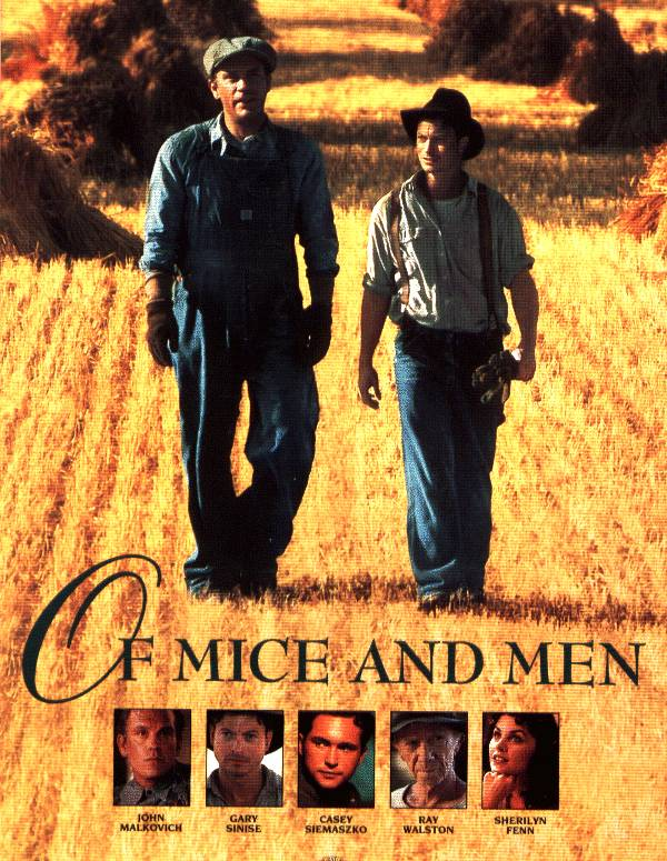 my of mice and men cast Get free homework help on steinbeck's of mice and men: book summary, chapter  summary and analysis, quotes, essays, and character analysis courtesy of.